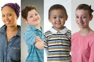 Pictured: Memorial Sloan Kettering Pediatric Patients