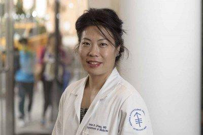 Memorial Sloan Kettering hospitalist Helen Chung