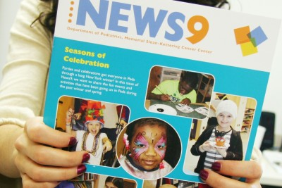 News9, newsletter for Memorial Sloan Kettering's Department of Pediatrics