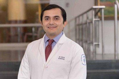 Memorial Sloan Kettering interventional radiologist Adrian Gonzalez-Aguirre