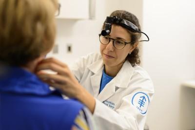 MSK surgeon Jennifer Cracchiolo