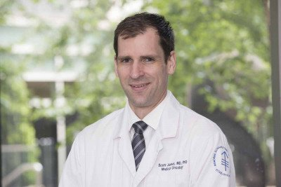 Memorial Sloan Kettering medical oncologist Scott James