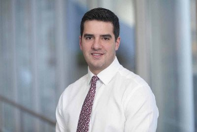 MSK pediatric oncologist Michael Ortiz