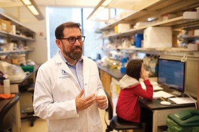 MSK physicianscientist Luis Diaz