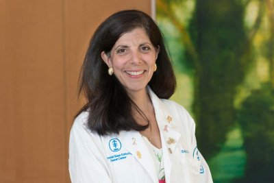 MSK medical oncologist Gabriella D'Andrea