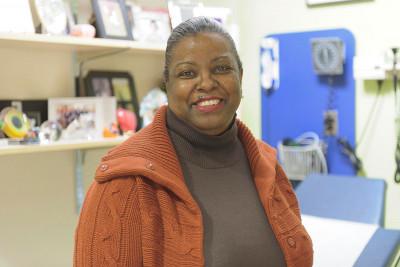 Pediatric hematologic oncologist Tanya Trippett