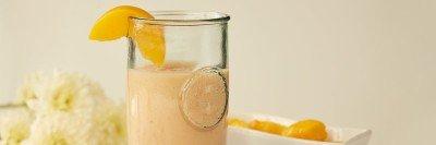 Cherry Peach Mango Smoothie