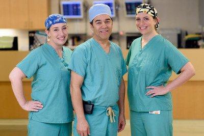 MSK gastroenterologists Emmy Ludwig, Hans Gerdes, and Robin Mendelsohn