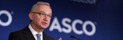 MSK Physician-in-Chief José Baselga presents at the ASCO meeting