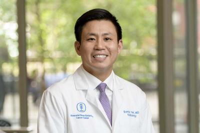 Memorial Sloan Kettering radiologist Randy Yeh