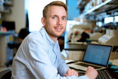 Research fellow Rasmus Pihl from the Yael David lab