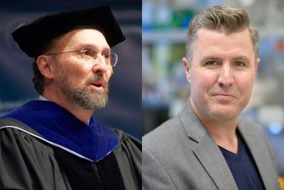 Molecular biologist Ken Marians and cell biologist Michael Overholtzer