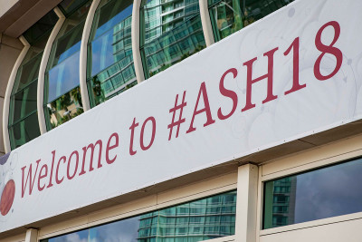 ASH meeting signage