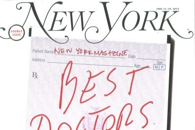 New York Magazine's Best Doctors 2012