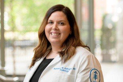 Memorial Sloan Kettering radiologist Katherine M. Gallagher