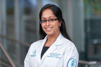Memorial Sloan Kettering breast surgeon Anita Mamtani