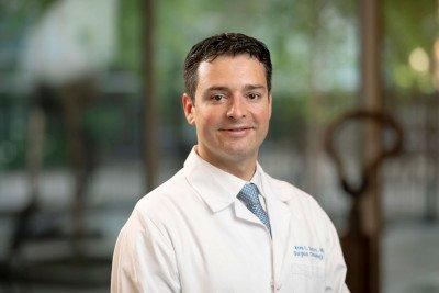 Memorial Sloan Kettering surgeon Kevin Soares