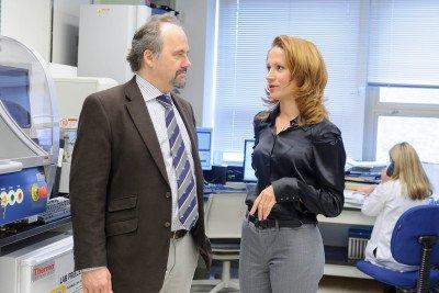 Pictured: Marc Ladanyi & Snjezana Dogan