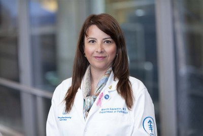 Memorial Sloan Kettering Cancer Center pathologist Marcia Edelweiss