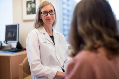 Memorial Sloan Kettering surgeon Melissa Pilewskie