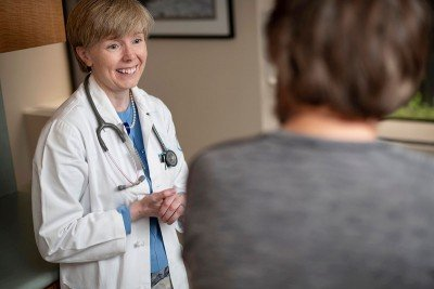 Memorial Sloan Kettering medical oncologist Eileen O'Reilly
