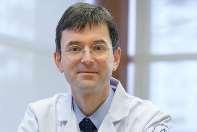 Pictured: Wolfgang Weber, Chief, Molecular Imaging and Therapy Service