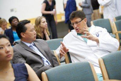 Pictured: Dennis Chi & Richard Barakat