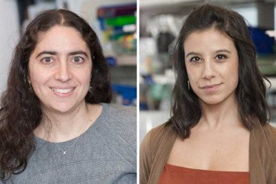 Rona Yaeger, MD, Co-First author (on the left) and Sandra Misale PhD, senior author (on the right).
