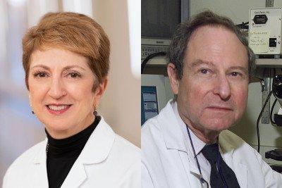 Dr. Lisa DeAngelis and Dr. Jerome Posner