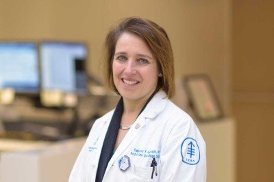Memorial Sloan Kettering radiologist Daphna Gelblum