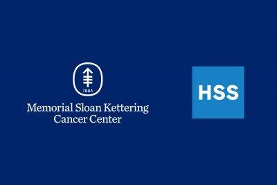 MSKCC and HSS logos