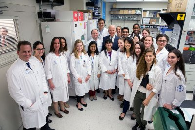 Levine Lab with Vice President Biden.