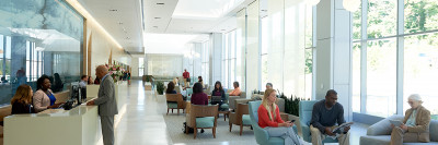 Memorial Sloan Kettering West Harrison Lobby