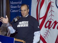 Yankees Manager Joe Torre