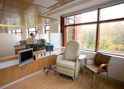 Outpatient Chemotherapy Suite at Basking Ridge New Jersey