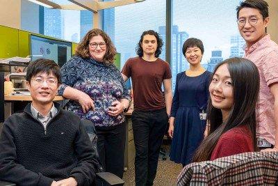 Members of the Dana Pe'er lab in the Sloan Kettering Institute