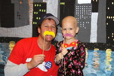 Billy Kupferman of Mustaches for Kids and Eve H.