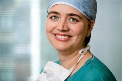 Surgeon Larissa Temple
