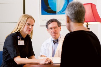Clinical Genetics Chief Kenneth Offit and Genetic Counselor Megan Harlan