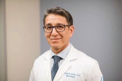 Memorial Sloan Kettering neurologist Edward Avila