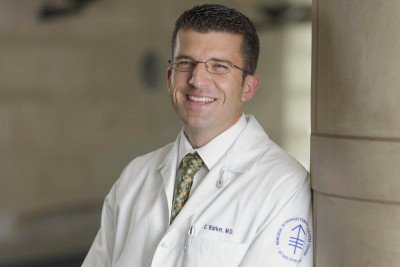 Memorial Sloan Kettering radiation oncologist Christopher Barker