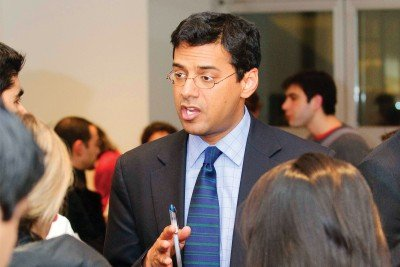 Writer and surgeon Atul Gawande