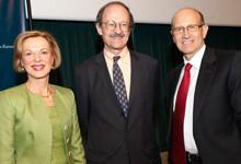 Elizabeth Nabel, Harold Varmus, and Gary Nabel