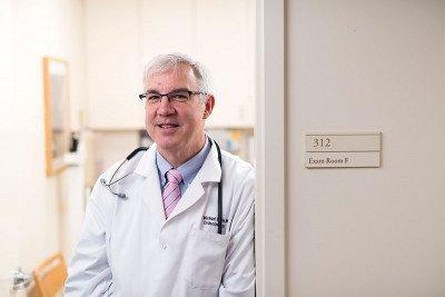 MSK endocrinologist R. Michael Tuttle