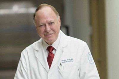 Memorial Sloan Kettering medical oncologist Stephen Veach