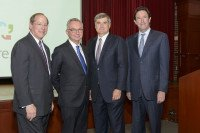 Leaders of Memorial Sloan Kettering and Hartford Healthcare mark the establishm…