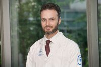MSK medical oncologist Jacob Glass