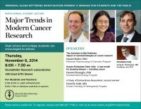 2014 Major Trends in Modern Cancer Research
