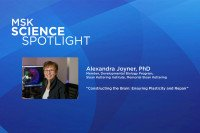 Science Spotlight lecture: Alexandra Joyner, PhD