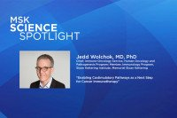 Science Spotlight lecture: Jedd Wolchok, MD, PhD